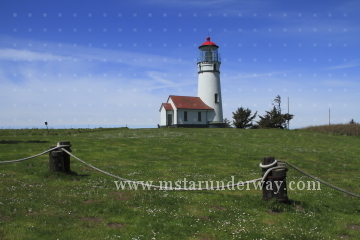 The Cape Blanco Lighthouse, Oregon