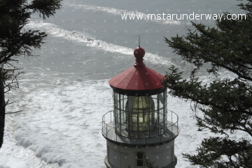 The Heceta Head Lighthouse, Oregon