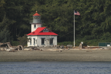 Point Robinson Lighthouse on Muary Island